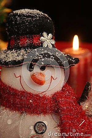 Free Christmas Snowman Royalty Free Stock Photos - 1486758