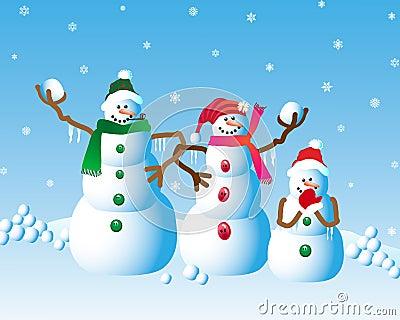 Christmas Snowman Fun