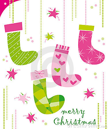 Free Christmas Socks Royalty Free Stock Image - 7271796