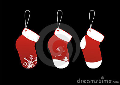 Christmas Socks Stickers