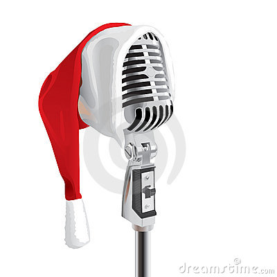 Free Christmas Song (vector) Royalty Free Stock Photography - 3296497