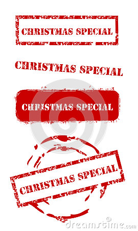 Christmas special stamps