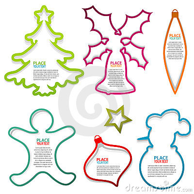 Christmas Speech Bubbles