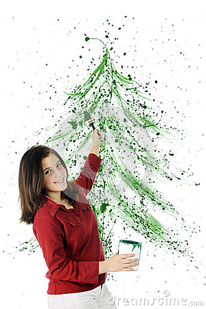 Christmas Splatter
