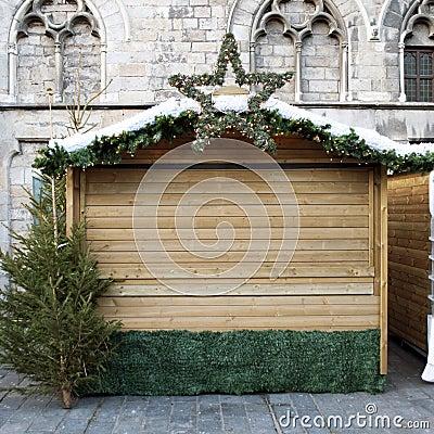 Christmas stall