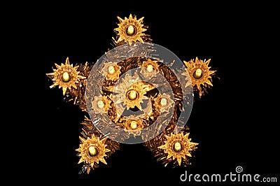 Christmas Star Tree Decoration