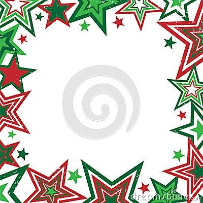Christmas Stars Border