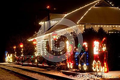 Christmas station