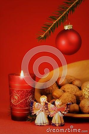Free Christmas Still Life Royalty Free Stock Photography - 1468127