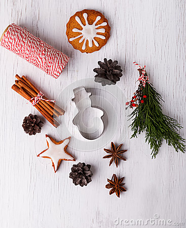 Free Christmas Still Life Royalty Free Stock Photography - 46688707