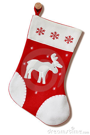 Christmas stocking.