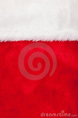 Christmas stocking as background