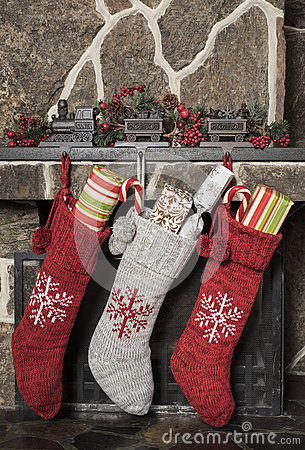 Free Christmas Stockings Royalty Free Stock Photo - 60759485