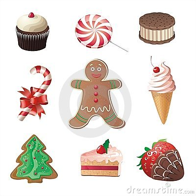 Free Christmas Sweets Stock Photography - 3749062
