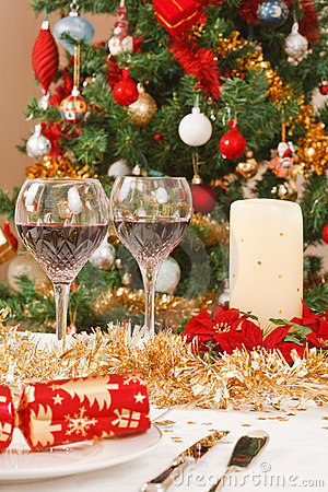 Free Christmas Table Stock Photos - 15903693