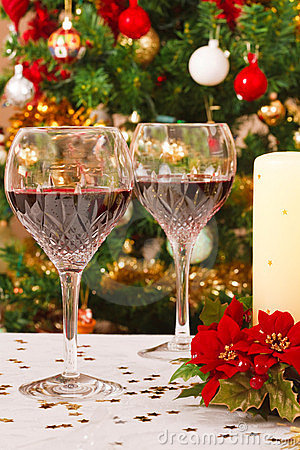 Free Christmas Table Stock Images - 21339334