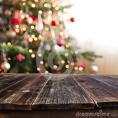 Free Christmas Table Stock Image - 45755131