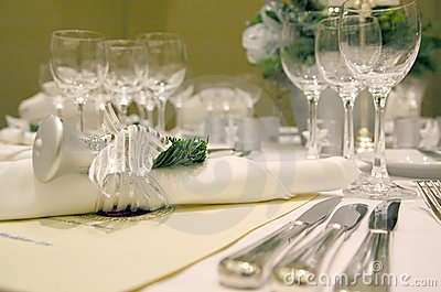 Christmas Table Setting 2