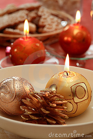 Free Christmas Table Setting Stock Photography - 2897192
