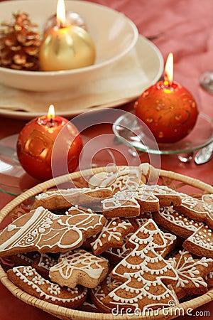 Free Christmas Table Setting Stock Image - 3166051
