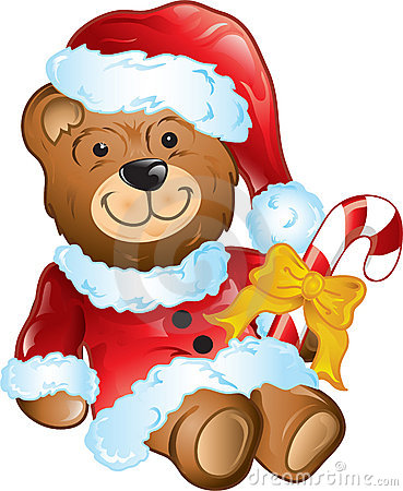 Christmas teddy beay