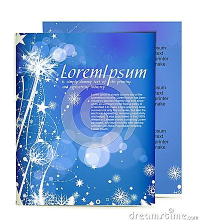 Free Christmas Template Designs Stock Photos - 17228183