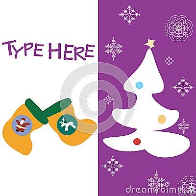 Christmas text card