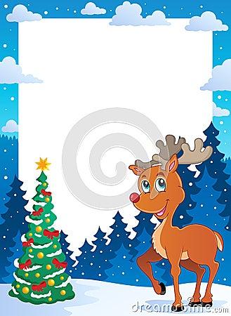 Christmas theme frame 5