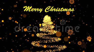 Christmas themed animated background with particles. Holiday bn of 2020 text on reflection background. 3D rendering. Christmas themed animated background with royalty free illustration