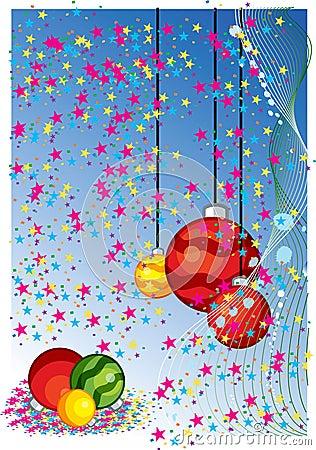Christmas themes with bulbs