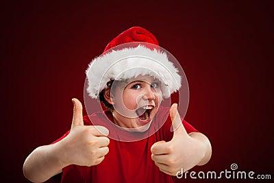 Christmas time - OK sign