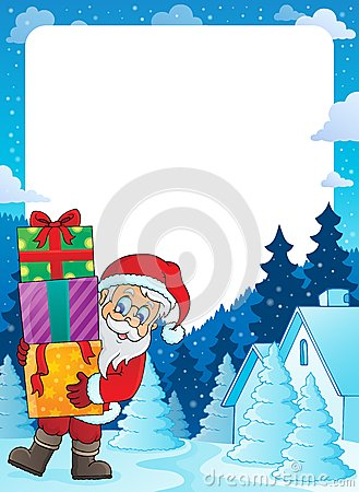 Christmas topic frame 5