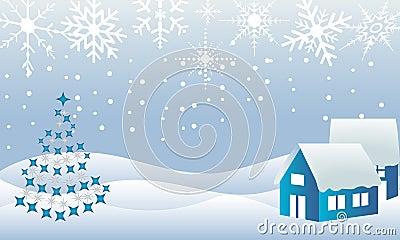 Christmas town winter wonderland