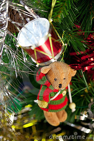 Christmas Toy Bear