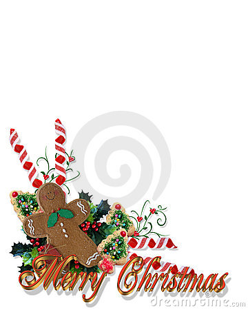 Christmas treats Corner with 3D text
