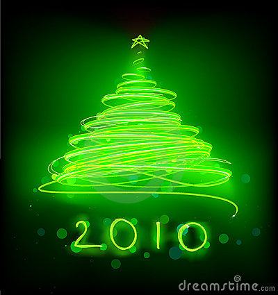 Free Christmas Tree Royalty Free Stock Photo - 10764435