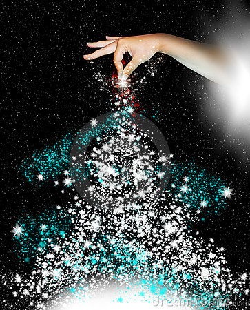Free Christmas Tree Royalty Free Stock Photography - 10815797