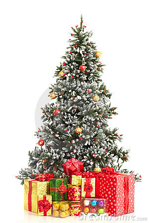 Free Christmas Tree Royalty Free Stock Photos - 11080258