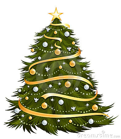 Free Christmas Tree Stock Photography - 11240062