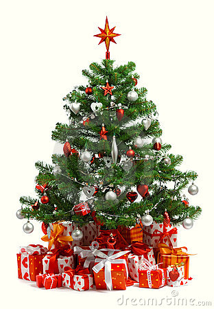 Free Christmas Tree Royalty Free Stock Photos - 16196098