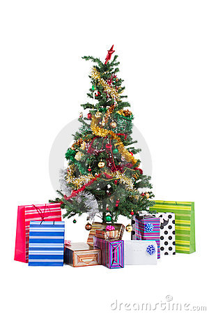 Free Christmas Tree Royalty Free Stock Photography - 16645617