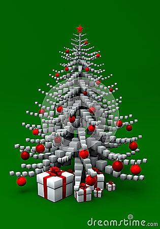Free Christmas Tree Royalty Free Stock Image - 2968036