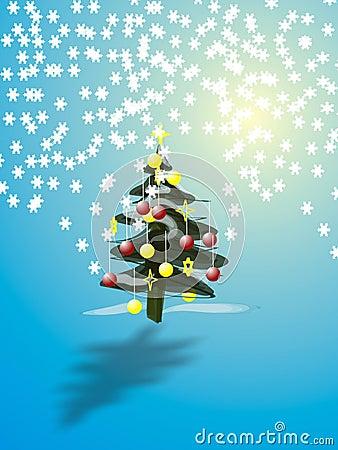 Free Christmas Tree Stock Photography - 350742