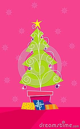 Free Christmas Tree Royalty Free Stock Image - 3668716