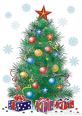 Free Christmas Tree Royalty Free Stock Photography - 3913887