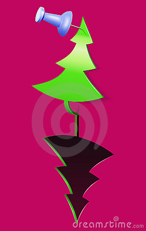 Christmas tree-applique.