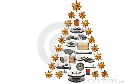 Christmas tree for automotive