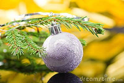 Christmas-tree balls.