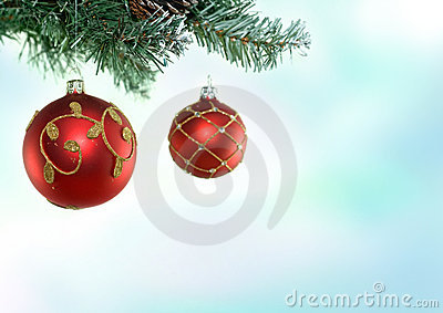 Christmas Tree & Baubles