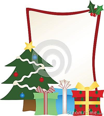 Christmas Tree Broader Frame
